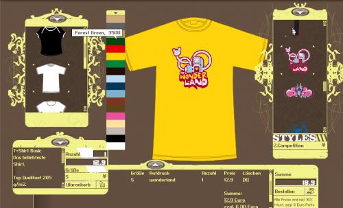Cyroline Shirt Plattform